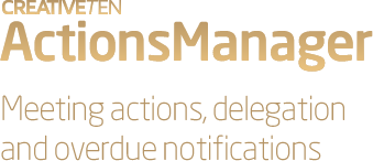 Actions Manager